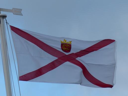 Fahne von Jersey